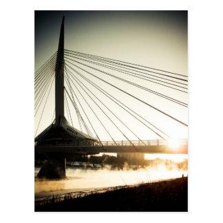 Postal del puente 02 de Bonifacio del santo de la