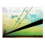 Postal del puente de Humber