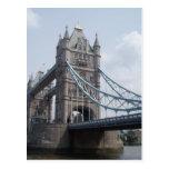 Postal del puente de la torre