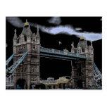 Postal del puente de la torre de Londres