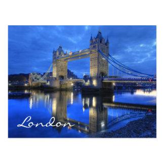 Postal del puente de Londres