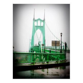 Postal del puente de St Johns