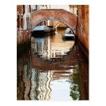 Postal del puente de Venecia