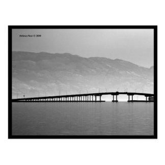 Postal del puente del lago de B&W Okanagan