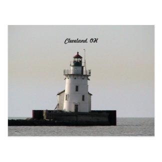 Postal del puerto de Cleveland