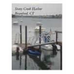 Postal del puerto de Stony Creek
