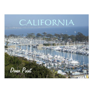 Postal del puerto deportivo de Dana Point