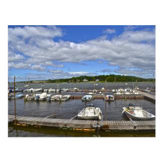 Postal del puerto deportivo de Stony Creek