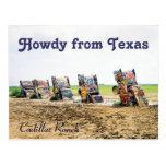 Postal del rancho de Cadillac