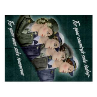 Postal del reclutamiento de WWII