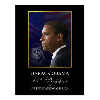 Postal del recuerdo de la inauguración de Obama -