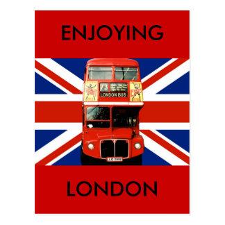 Postal del recuerdo de Londres Inglaterra