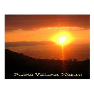 Postal del recuerdo de Puerto Vallarta, México