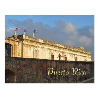 Postal del recuerdo de San Juan Puerto Rico