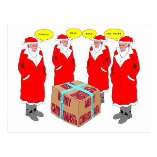 Postal del regalo del navidad de Dostoevsky