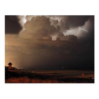 Postal del relámpago de Delray Beach