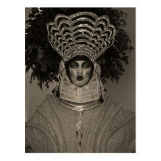 Postal del retrato de Srta. Hryggur