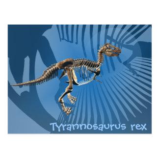 Postal del rex del Tyrannosaurus