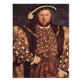 Postal del rey Enrique VIII