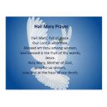 Postal del rezo de Maria del saludo
