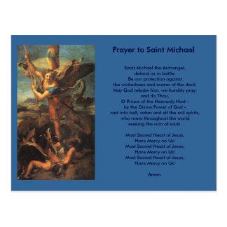 Postal del rezo de San Miguel