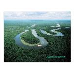 Postal del río Amazonas