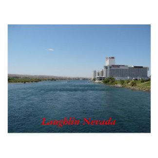 Postal del río de Laughlin