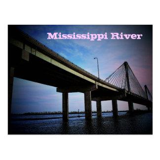 Postal del río Misisipi
