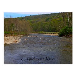 Postal del río Susquehanna