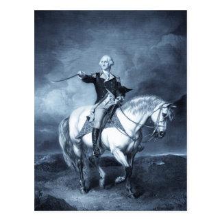 Postal del saludo de George Washington