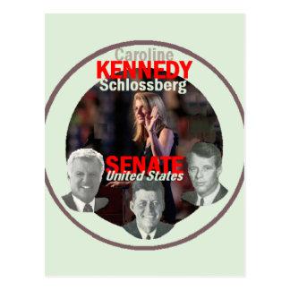 Postal del senado de KENNEDY