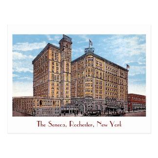 Postal del Seneca del hotel del vintage