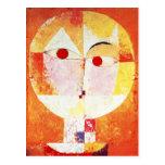 Postal del Senecio de Paul Klee