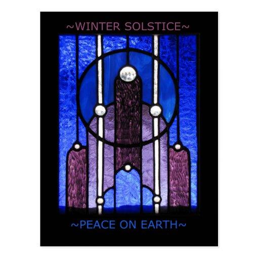 Postal del solsticio de invierno