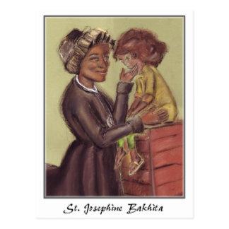 Postal del St Josephine Bakhita