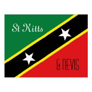 Postal del St San Cristobal y de Nevis