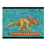 Postal del Styracosaurus