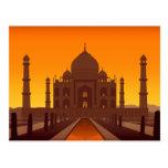 Postal del Taj Mahal