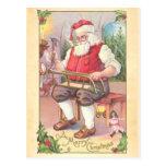 Postal del taller de Santa