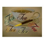 Postal del té