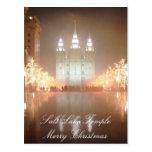 Postal del templo de Salt Lake