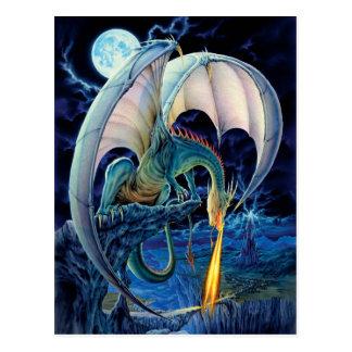 Postal del terraplén del dragón
