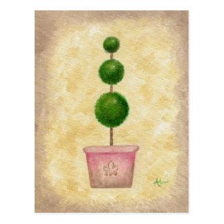 Postal del Topiary del globo