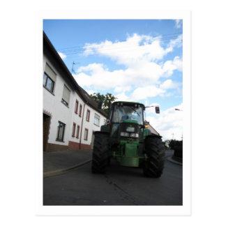 Postal del tractor