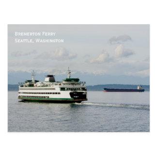 Postal del transbordador de Bremerton