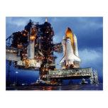 Postal del transbordador espacial