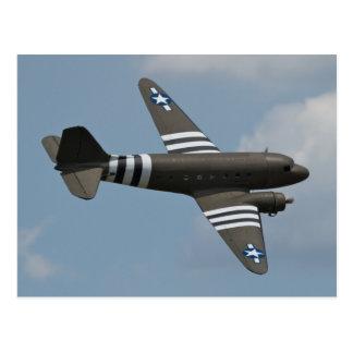 Postal del transporte del C-47