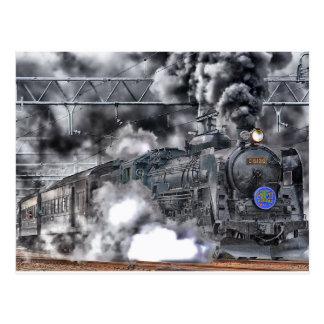 Postal del tren