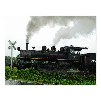 Postal del tren de excursión