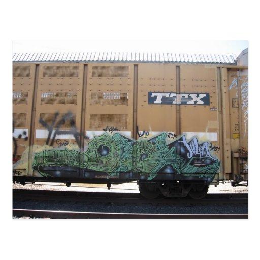postal del tren de la pintada